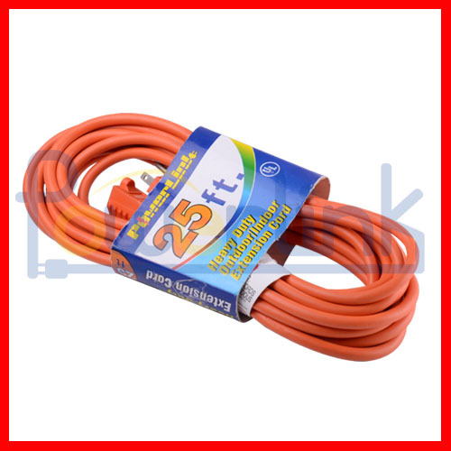 S10261 Outdoor power extension cord with multi-outlet, extension wire for US, Canada V-PT02