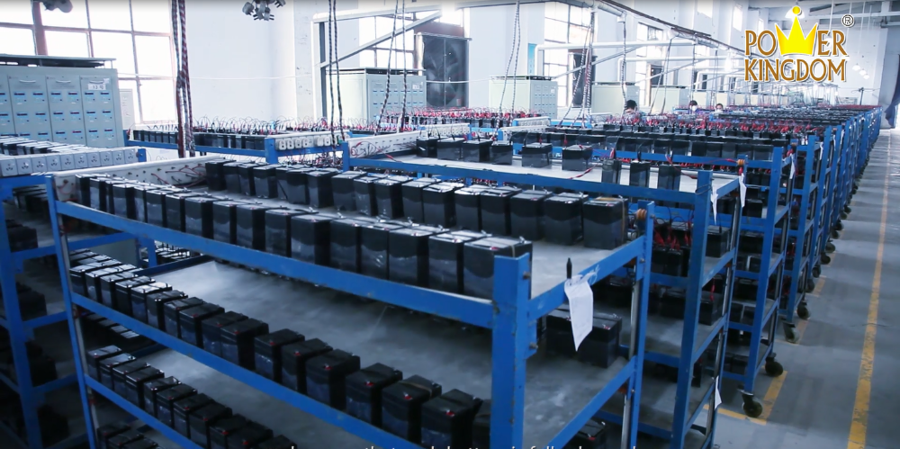 Power Kingdom Best 6 volt gel cell deep cycle battery factory