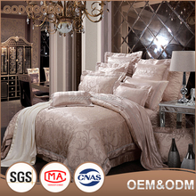 Wholesale Sgs Standard Eco-Friendly Comforter Most Popular Exquisite Design 4Pc Luxury Silk Bedding Set
