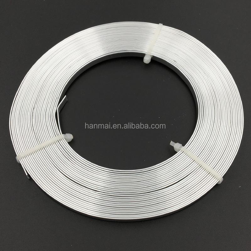 5mm Flat Aluminum Craft Wire/ Craft Aluminum Wire - Buy Craft Wire ...