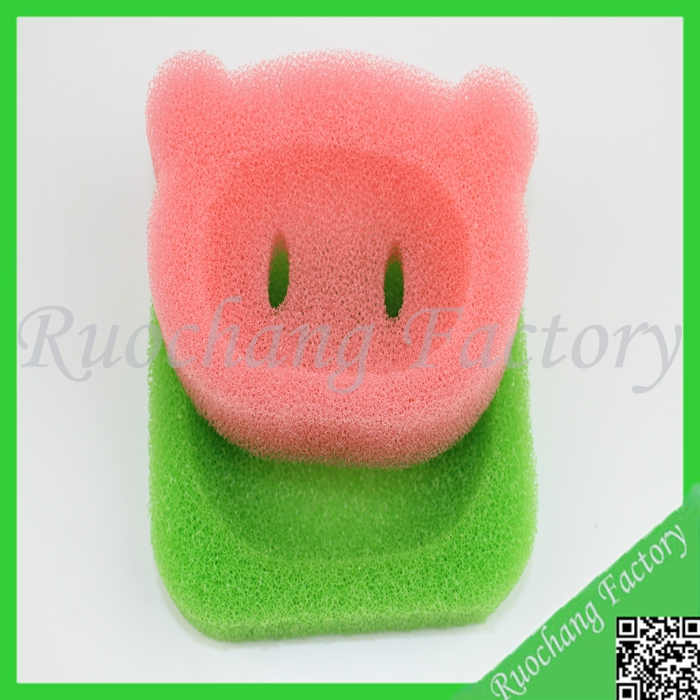 Hot sale filter pulp sponge,custom shape bath sponge wholesale