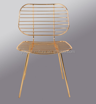 Gold Wire Mesh Dining Chair Uk