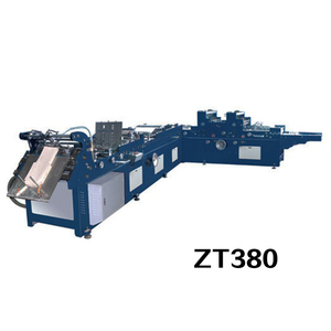 ZT380 W D Express Pocket Envelope Making Pasting Machine