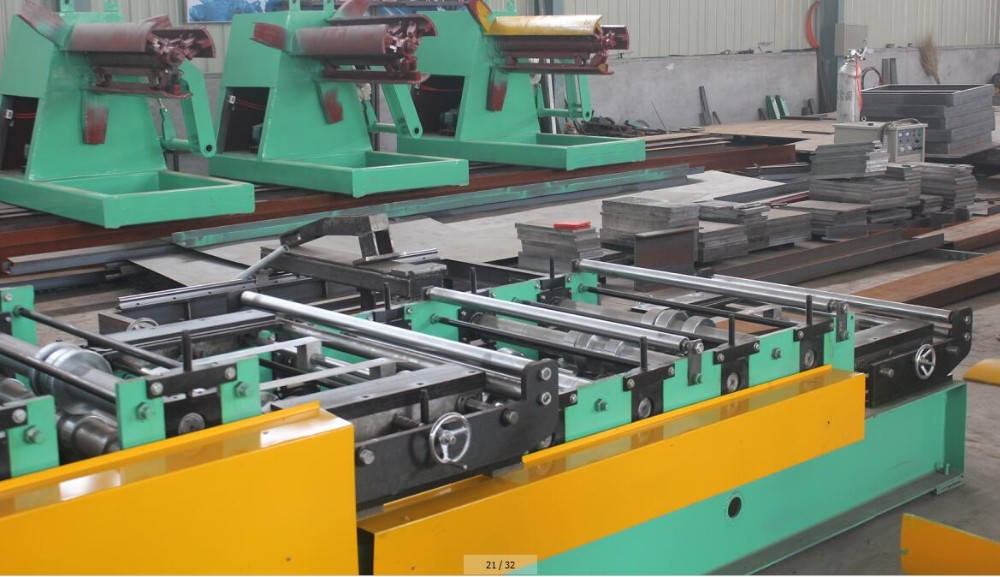 IBR high rib roof sheet metal making machine