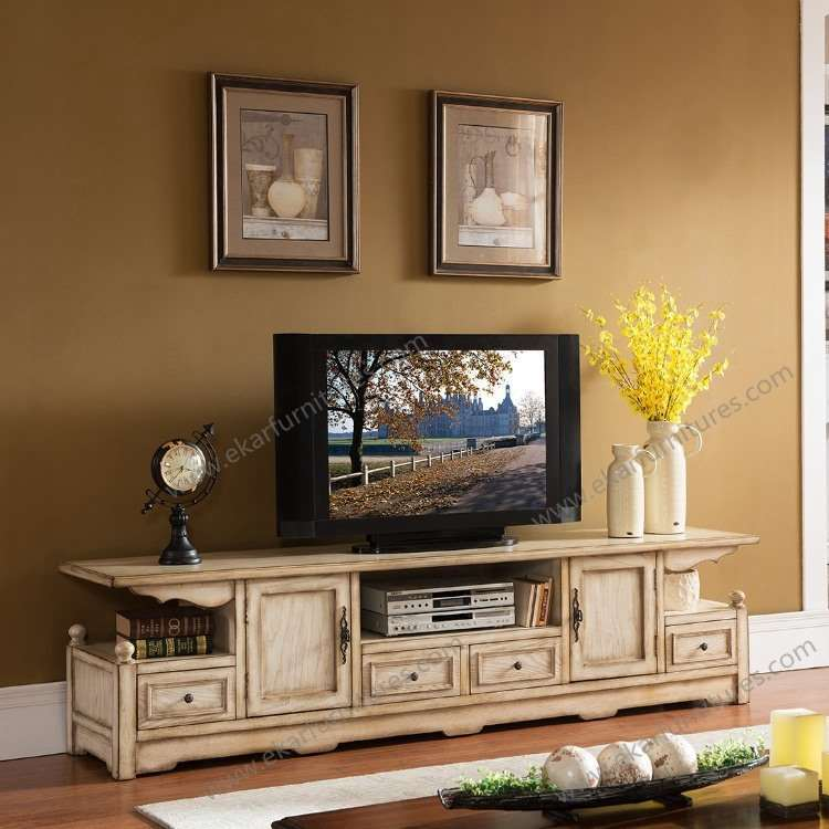 Simple Design New Modern Solid Wood Tv Stand Showcase Pictures