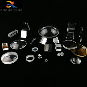 Optical glass prisms, lenses, optical components, bk7 K9 optical glass blanks chinese manufacturer