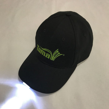 Custom Mini Led Flashlight key cap with 5 led lights In Visor Baseball Cap  Built- 86ba76dea8c