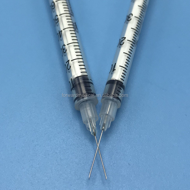 medical use high quality insulin syringe with needle 3cc 5cc 10cc