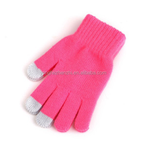 2017 Cheap Touch Screen Winter Gloves, Cheap Wholesale Soft Winter Gloves