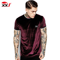 2016 new style velour t shirt polyester and elastane t shirt t-shirt manufacturers in mexico