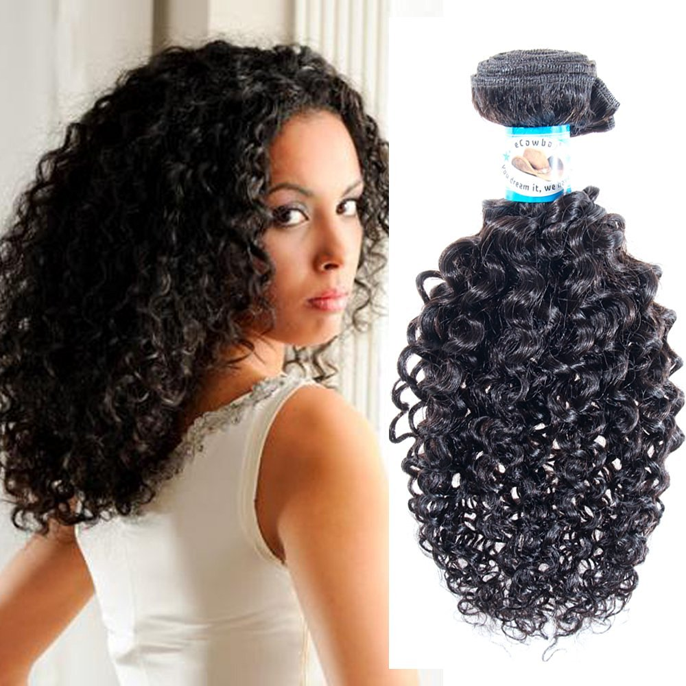 1 Best Er Jerry Curl Peruvian Virgin Remy Hair Can Be Dyed Absorbs Color Easily