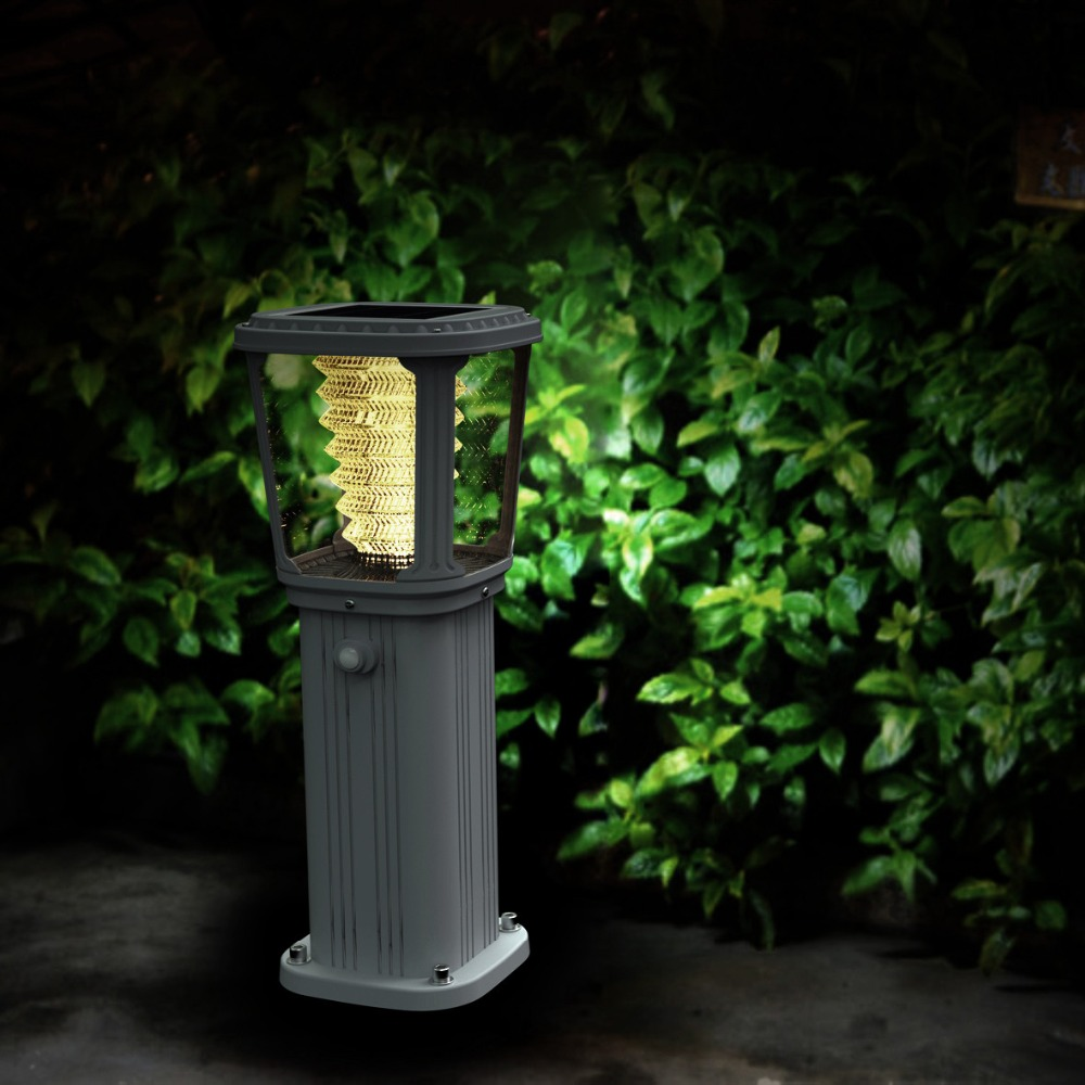 Creative Aluminium Outdoor Solar Led Garden Wall Light
