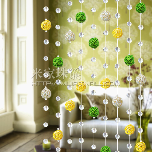 haute qualit verre cristal rustique sepak takraw rideau de cristal multicolore perles de rideau. Black Bedroom Furniture Sets. Home Design Ideas