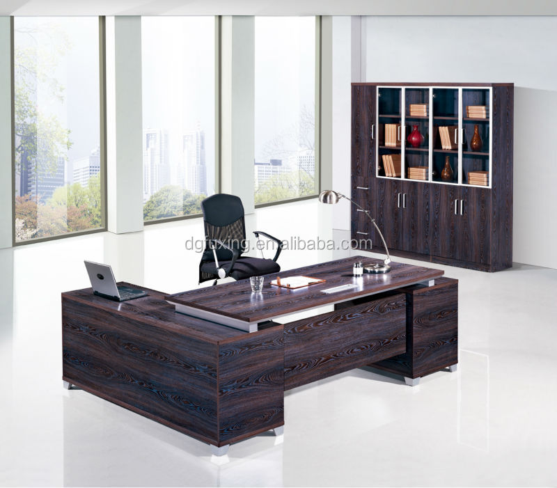 luxury office desk. contemporary modern executive desk luxury office furniture beige color