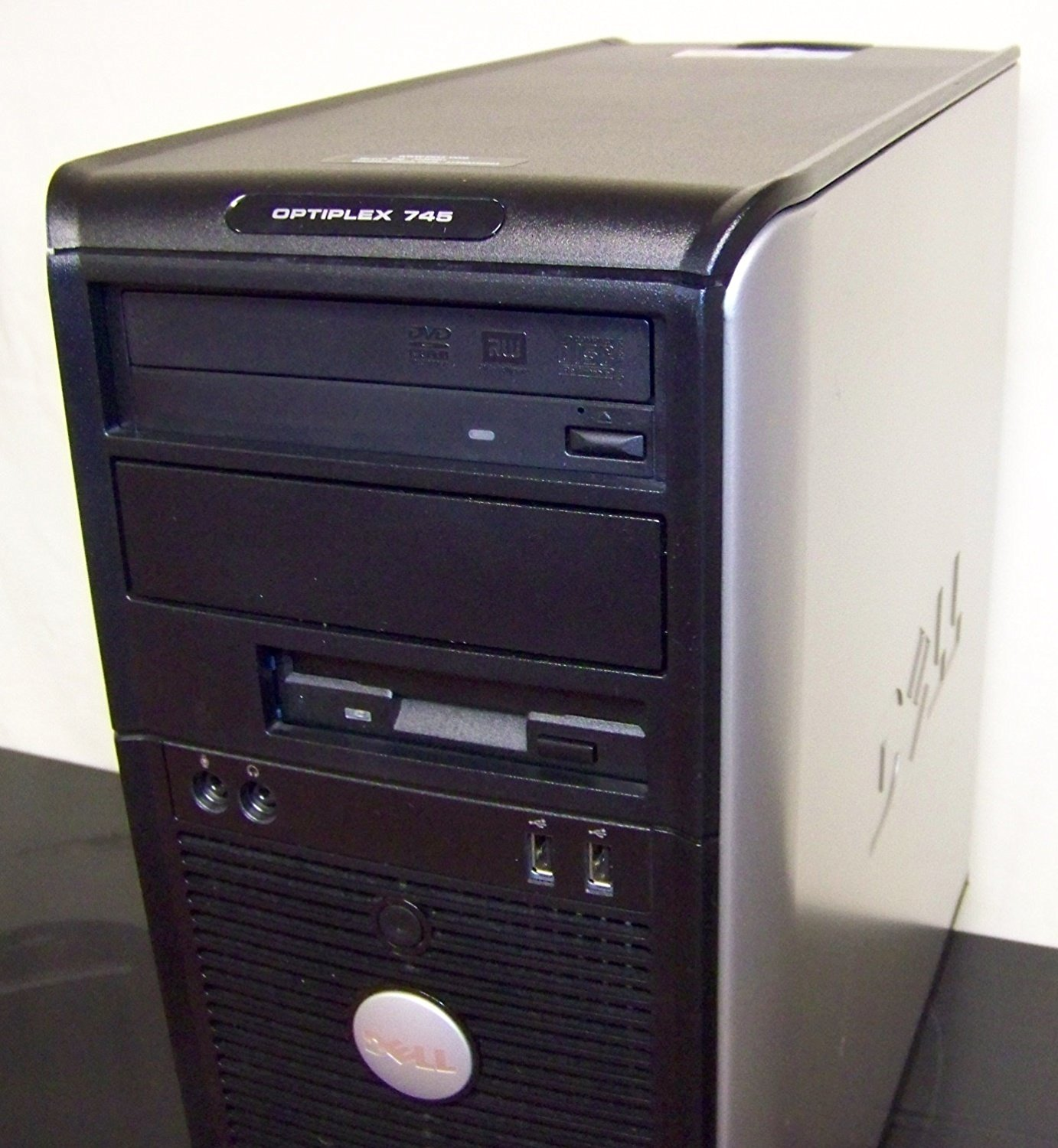 Dell Optiplex 745 Tower, Windows 7 Home 32 Bit, Fast and Powerful 3.4GHz Pentium D Dual Core Processor, 2GB DDR2 High Performance Memory, Large 160GB SATA Hard Drive, DVD/CDRW, Wireless Capable (Adaptor Sold Separately)
