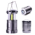Extendable Magnetic 200LM Hiking Lights Flashlight with AA Battery Water Resistant Tent Lamp COB LED No Battery Camping Lantern