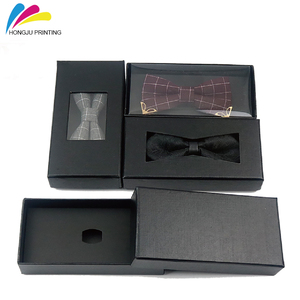 customized offset printing bow tie packaging box