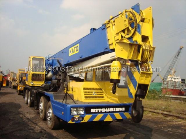 Mobile Crane Kato 20 Ton : Used kato nk e crane for sale japanese