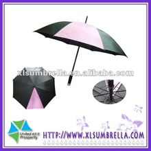 golf umbrellas cheap High fashion black and pink umbrella rain
