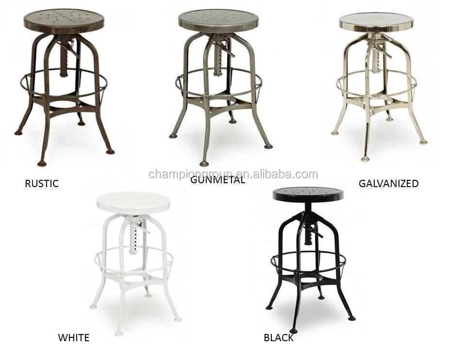 Vintage Toledo Retro Metal Bar Chair,Counter Stool   Buy Metal Toledo Bar  Stool,Restro Bar Stool,Adjustable Metal Bar Stool Product On Alibaba.com