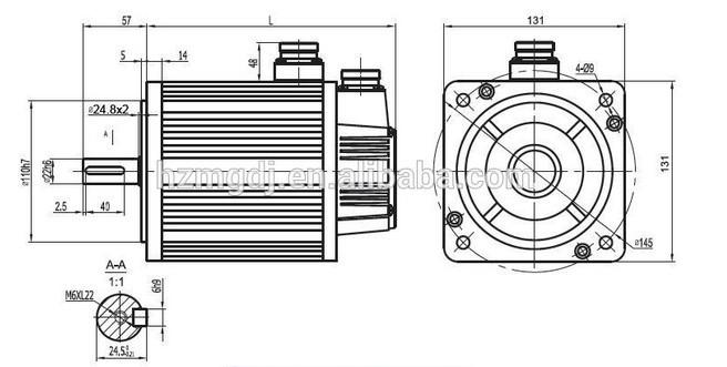 130st-m10010 mige servo motor for cnc machine use
