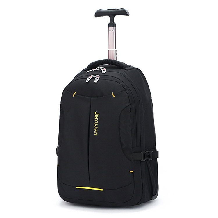 bc25b20be9b9 Multi-use Black Executive Travel Laptop Trolley Bag Rolling Wheeled Trolley  Backpack - Buy Black Trolley Backpack,Wheeled Trolley Backpack,Laptop ...