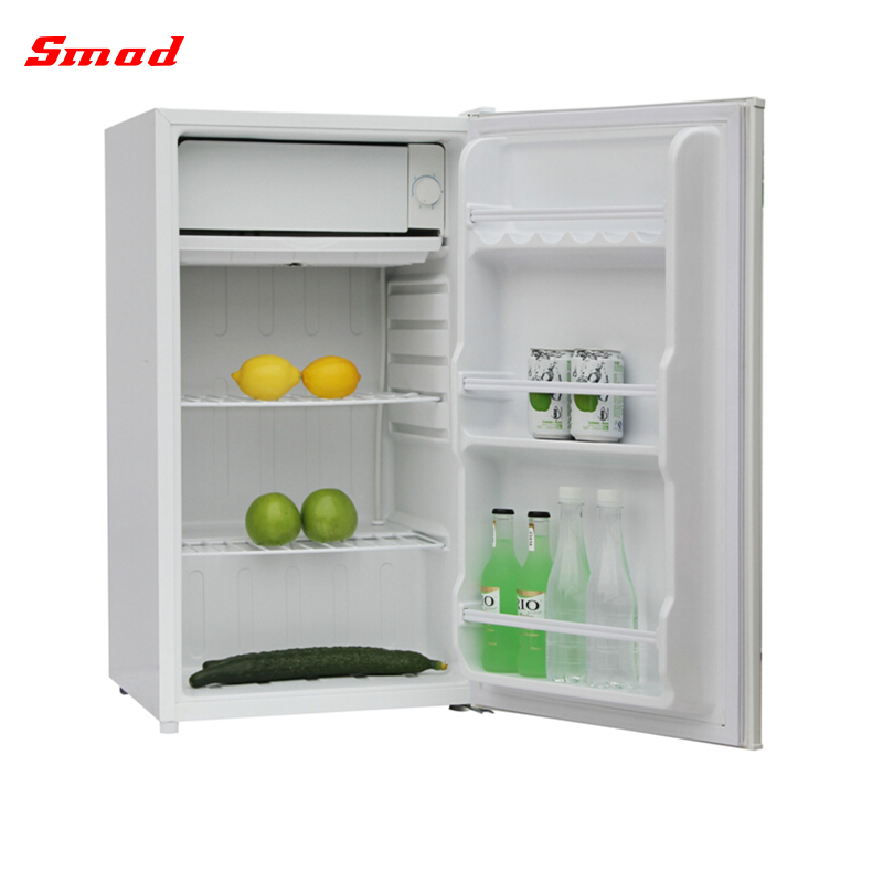 90L Manual Defrost Mini Bar Small Single Door Refrigerator