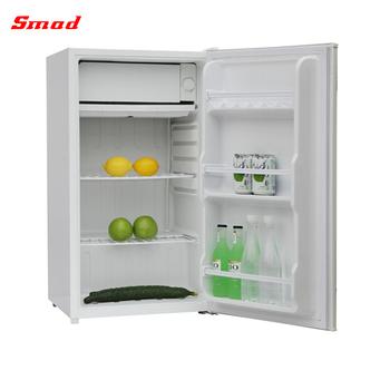 90l Manual Defrost Mini Bar Small Single Door Refrigerator Product On Alibaba