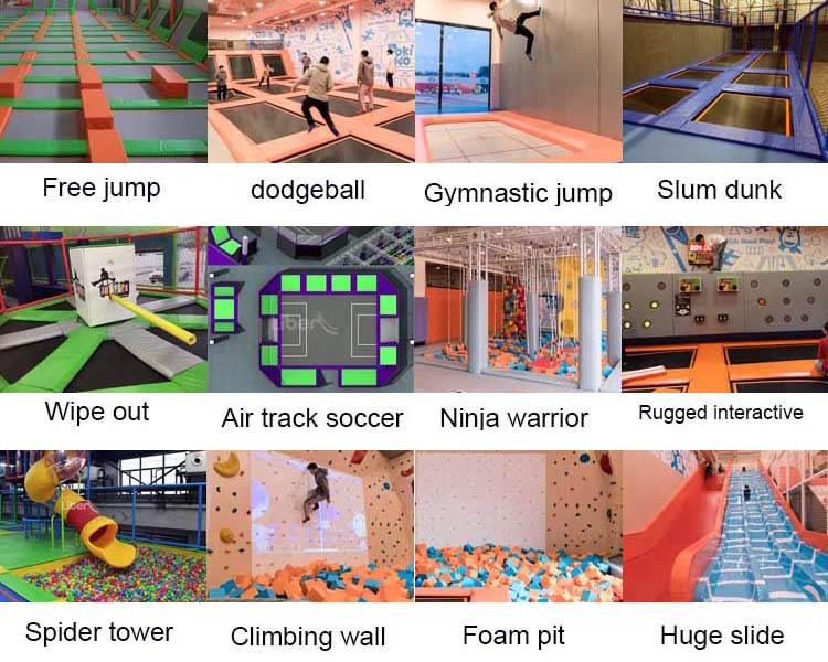 Foam Pit Cubes For Indoor Trampoline Park And Sports Trampoline Park Wholesale