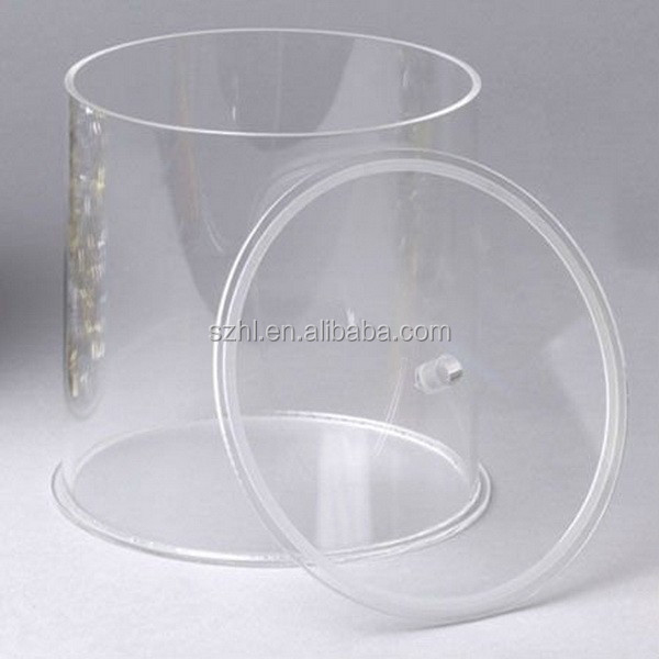 Round Clear Acrylic Containers With Lid   Buy Clear Acrylic Containers,Acrylic  Containers With Lids,Round Clear Acrylic Containers Product On Alibaba.com