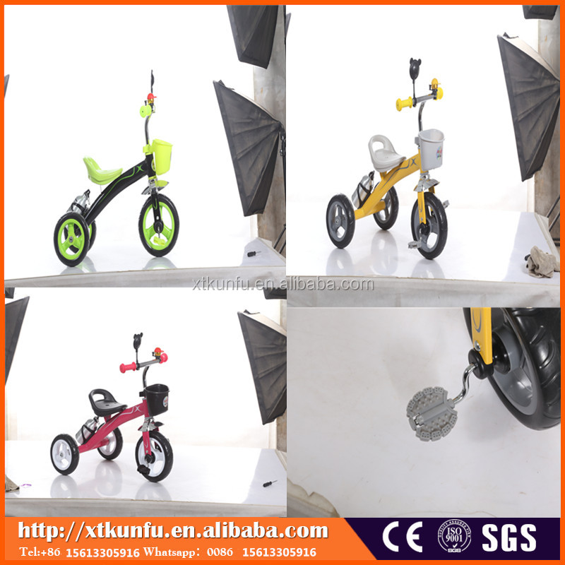 Wholesale kids tricycle children two seats baby tricycle children bike with umbrella tricycle kids