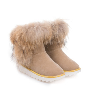 Faux Suede Women Shoes Wholesale Girls Thermal Fur Cheap Warm Snow Boots