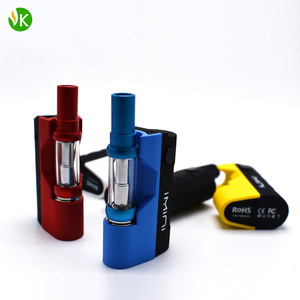 Elaborate Imini Thick Oil Vaporizer Starter Kit 21g 500mAh Box Mod Battery with Tank Cartridge Atomizer 100% Authentic