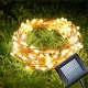 100M Warm White LED Solar Fairy Light