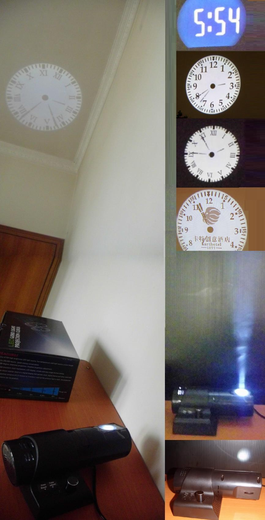 Digital projector led clock buy high quality wall projection digital projector led clock amipublicfo Images