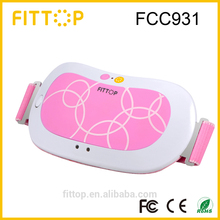 High quality waist ab belt massager vibrated thermal therapy