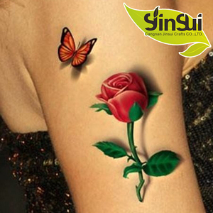 wholesalers china water based temporary tattoo