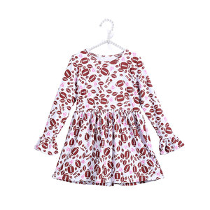 Sweet and Lovely Kids Bell Sleeve Tunic with Long Sleeve