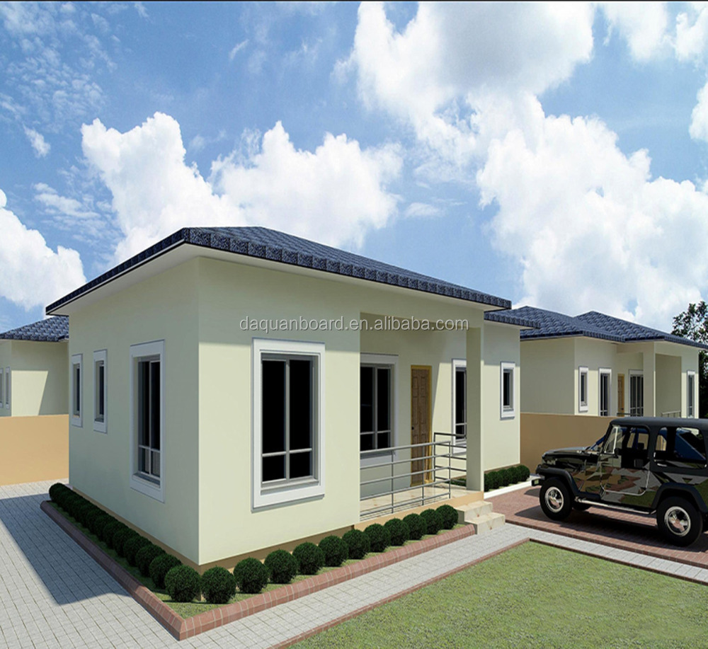 100m2 home modern prefab steel frame house plans