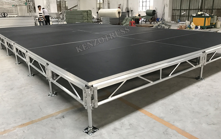 Aluminum Outdoor Mobile Stage Portable Dance Stage For Sale
