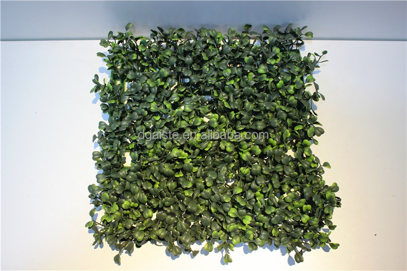 Home wall interior decor 40cm*60cm or 25cm*25cm artificial fake synthetic boxwood mat ECG12 11P
