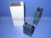 Aluminum extrusion screen profile for office
