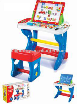 Deluxe Art Desk Drawing Board And Chair