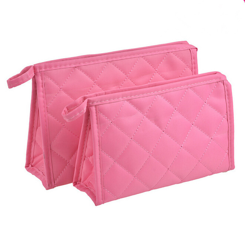 Brand Cosmetic Bags Fashion Cute cosmetic bags Women Lady Travel Makeup bag make up bags box organizer pouch Clutch Handbag