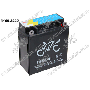 Motorcycle battery 12N7A-3A with good quality YTX5L-BS