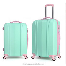 new ABS Hand Cabin Luggage Travel Bag Hard trolley Luggage sets fashion design