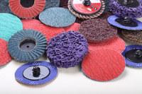 PEGATEC ceramic quick change mini flap wheel polishing tools