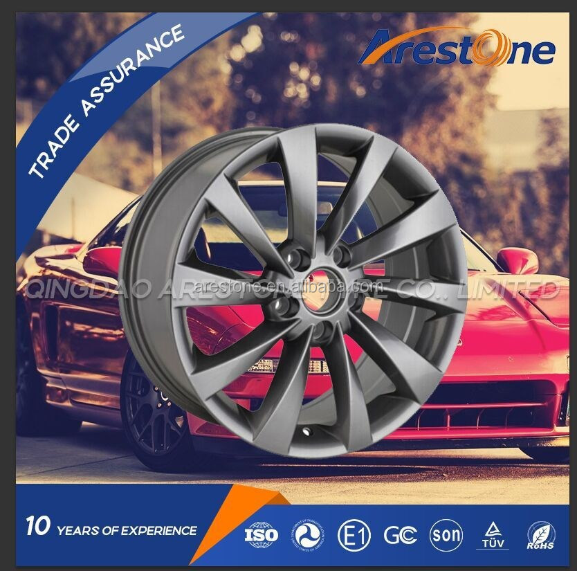 Factory wholesale car alloy wheels 14 inch 14x4.5 14x5.5 14x6