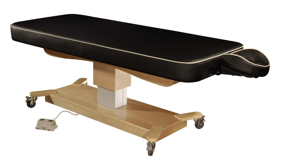 """Mt 30"""" MaxKing Comfort Electric Massage Table Package Electric Lift Table with 3.5"""" Cloudysoft Sponge System"""