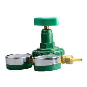Cheap hot sale adjustable green oxygen regulator